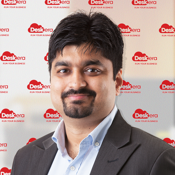 Shashank Dixit Founder and CEO, Deskera