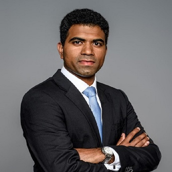 Arjun Anand  Investment Professional, Verlinvest